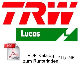 TRW Lucas Produktkatalog